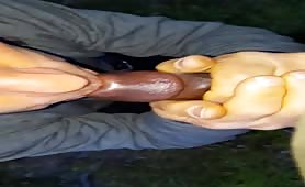 My black cock friend and I fuck