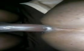 11 inch black cock banging a horny thug ass
