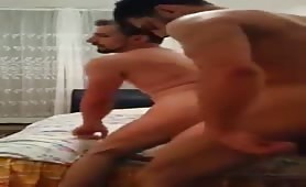 Pakistani male escort banging his arab client ass