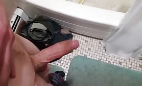 Hot and tasty toilet cock