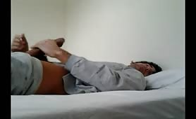 Super sexy hung masturbating