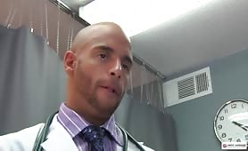 This doctor knows how to do a prostate exam