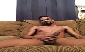 Monster black cock on a sexy dude