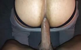 Big fat dick breeding a fat muscular tight ass