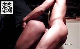 Latin str8 twink fucking gay man in the meter room