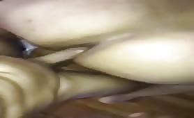 Horny bottom love taking a huge latin cock