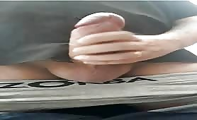 uncut str8 married  daddy shoots a big thick load of cum