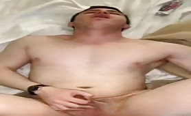 Big fat white cock breeing a young boy